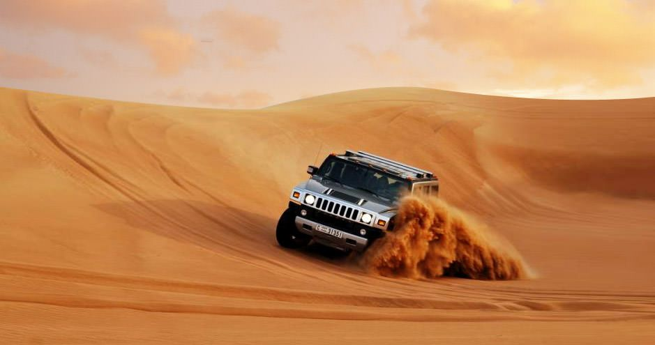 dubai desert safari hummer reviews