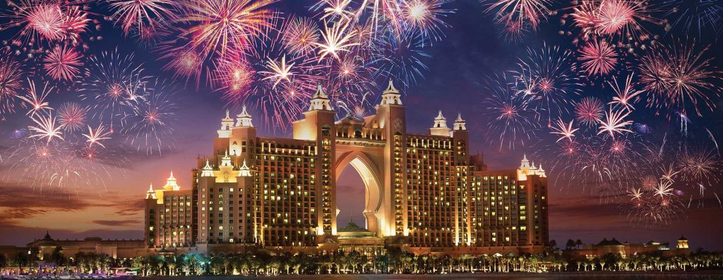 Parties and Fireworks New Years 2021 Dubai | Dubai Tour On A Budget
