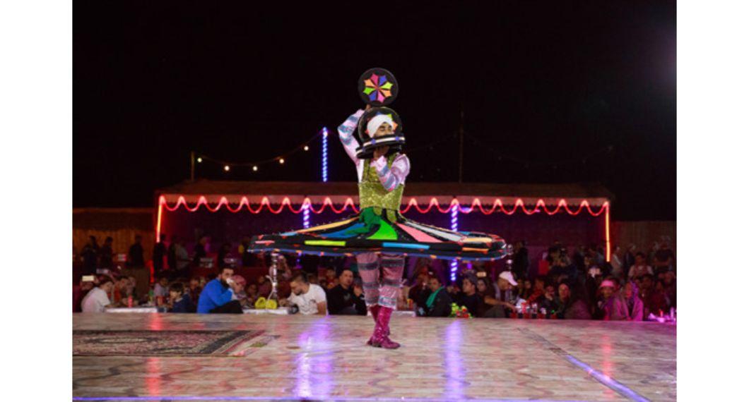 tanura dance show