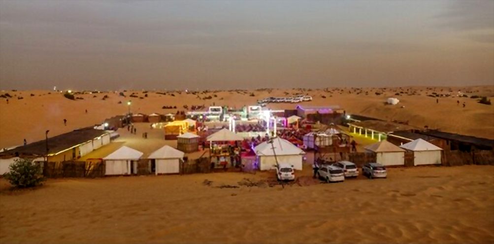desert safari camp