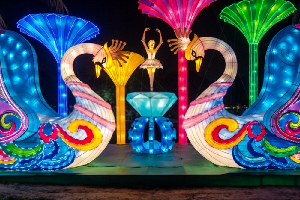garden glow 3D Art