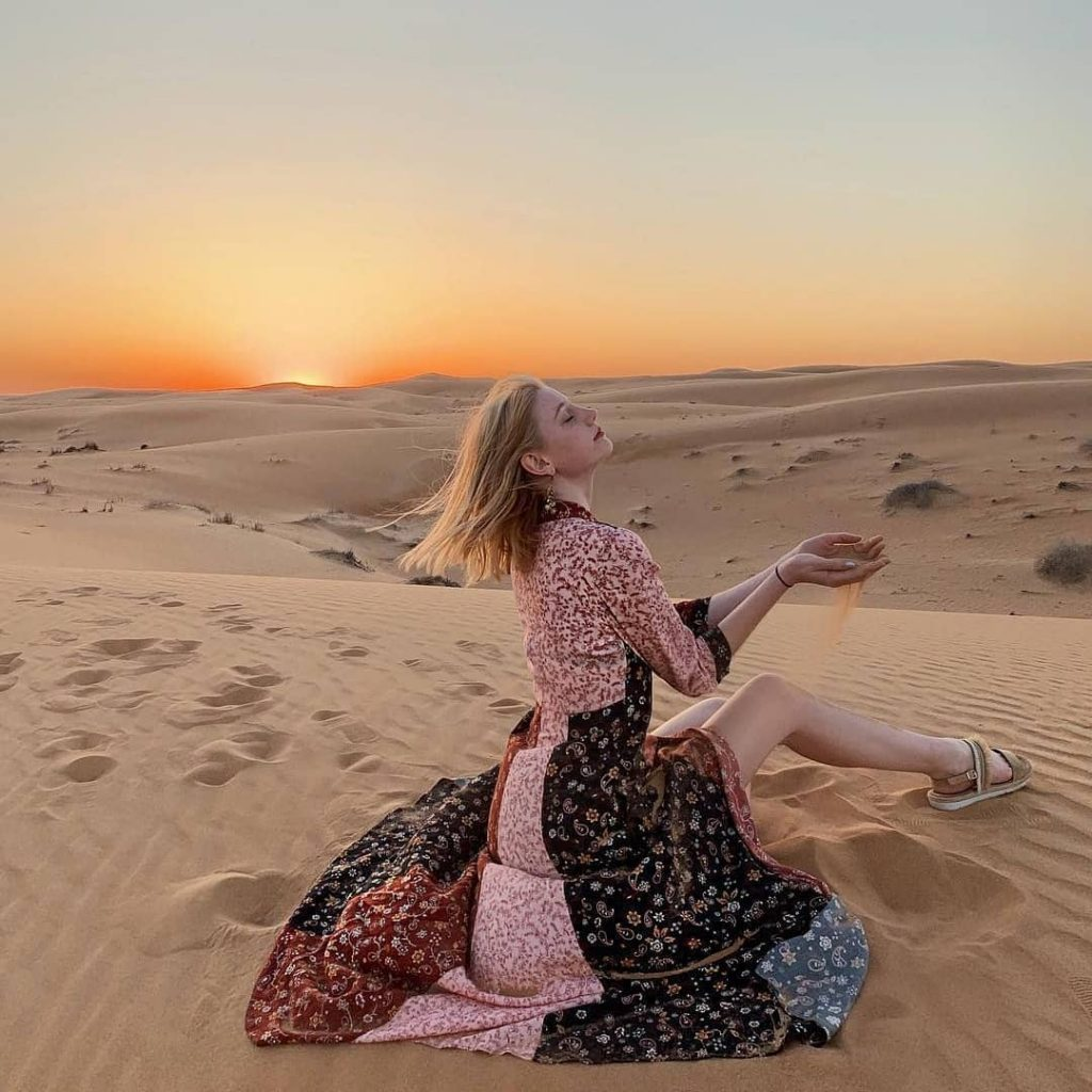 photography in the desert safari dubai
