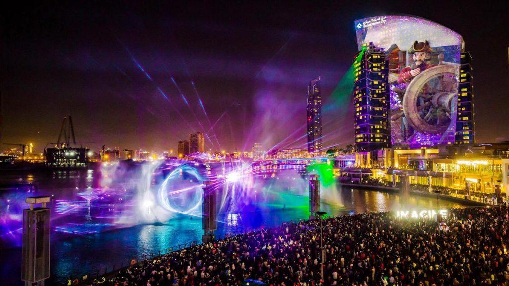 Dubai light Festival