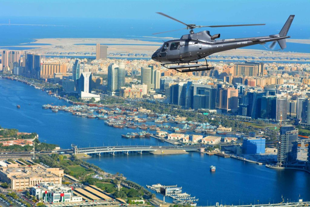 Helicopter Dubai Tour.
