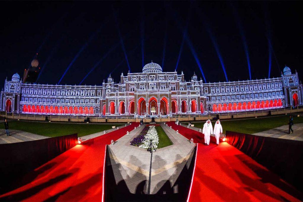Light festival Sharjah UAE