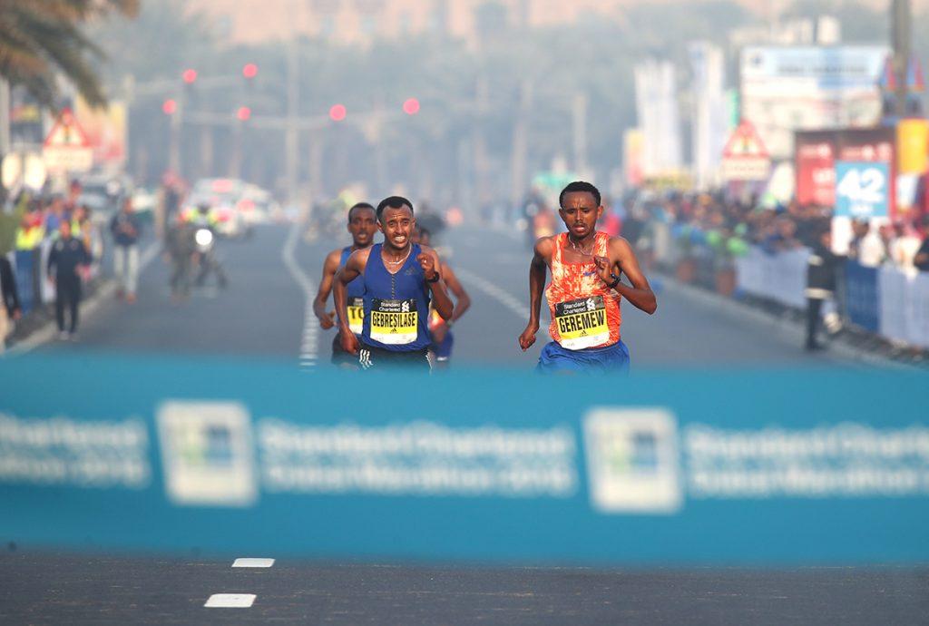 dubai marathon course